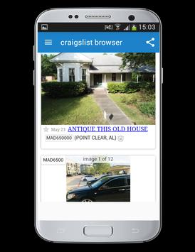 New browser for craigslist for Android - APK Download