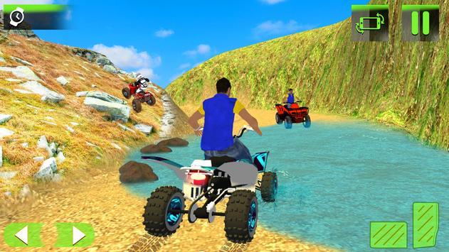 Quad Bike Driving Game 2018 : Moto GP Driving 3D apk screenshot