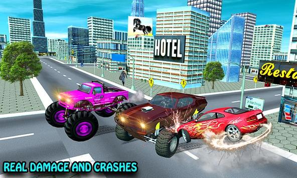 4x4 Real Demolition Racer 3D: Anger Management screenshot 1