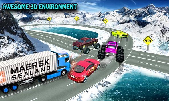 4x4 Real Demolition Racer 3D: Anger Management screenshot 2
