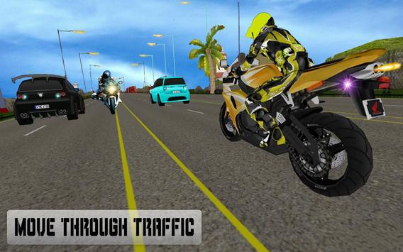 New Traffic Rider 3D: Heavy Duty Bike Racing Game screenshot 12