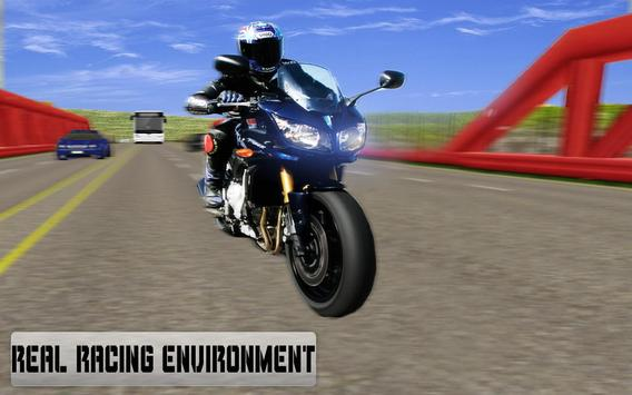 New Traffic Rider 3D: Heavy Duty Bike Racing Game screenshot 14