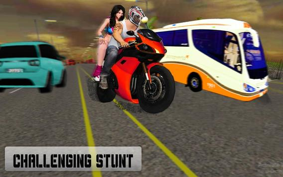 New Traffic Rider 3D: Heavy Duty Bike Racing Game screenshot 8