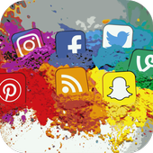All Social Media- All in One icon