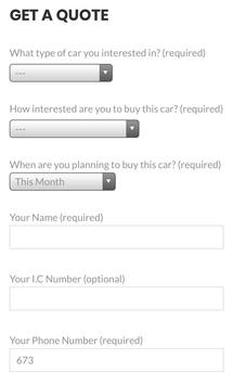 NurulSuzuki: Suzuki Brunei Sales Representative screenshot 3