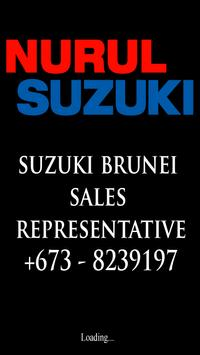 NurulSuzuki: Suzuki Brunei Sales Representative poster