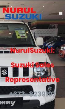 NurulSuzuki: Suzuki Brunei Sales Representative screenshot 1