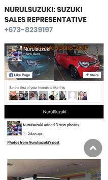 NurulSuzuki: Suzuki Brunei Sales Representative screenshot 2