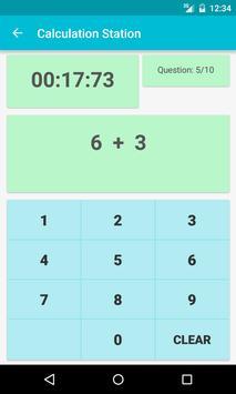 Math Quiz-Calculation Station screenshot 4