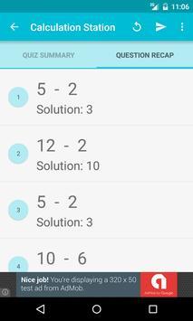 Math Quiz-Calculation Station screenshot 6