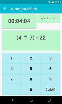 Math Quiz-Calculation Station screenshot 3