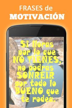 Frases Motivación con imagenes poster