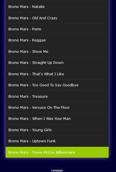 All Songs Bruno Mars Hits screenshot 2