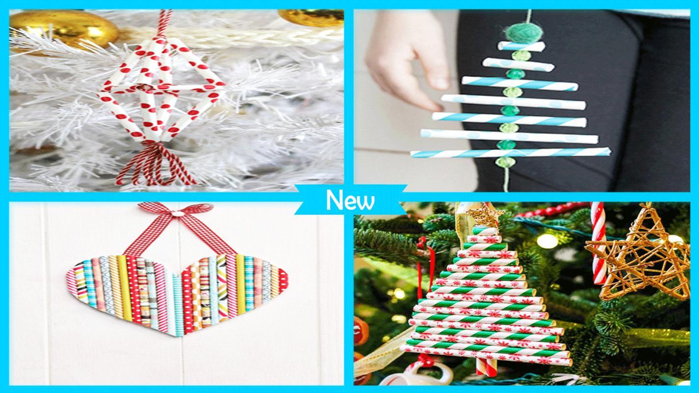 Árbol de Navidad fácil de la paja de papel de DI for Android - APK ...