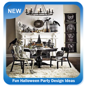 Fun Halloween Party Design Ideas icon