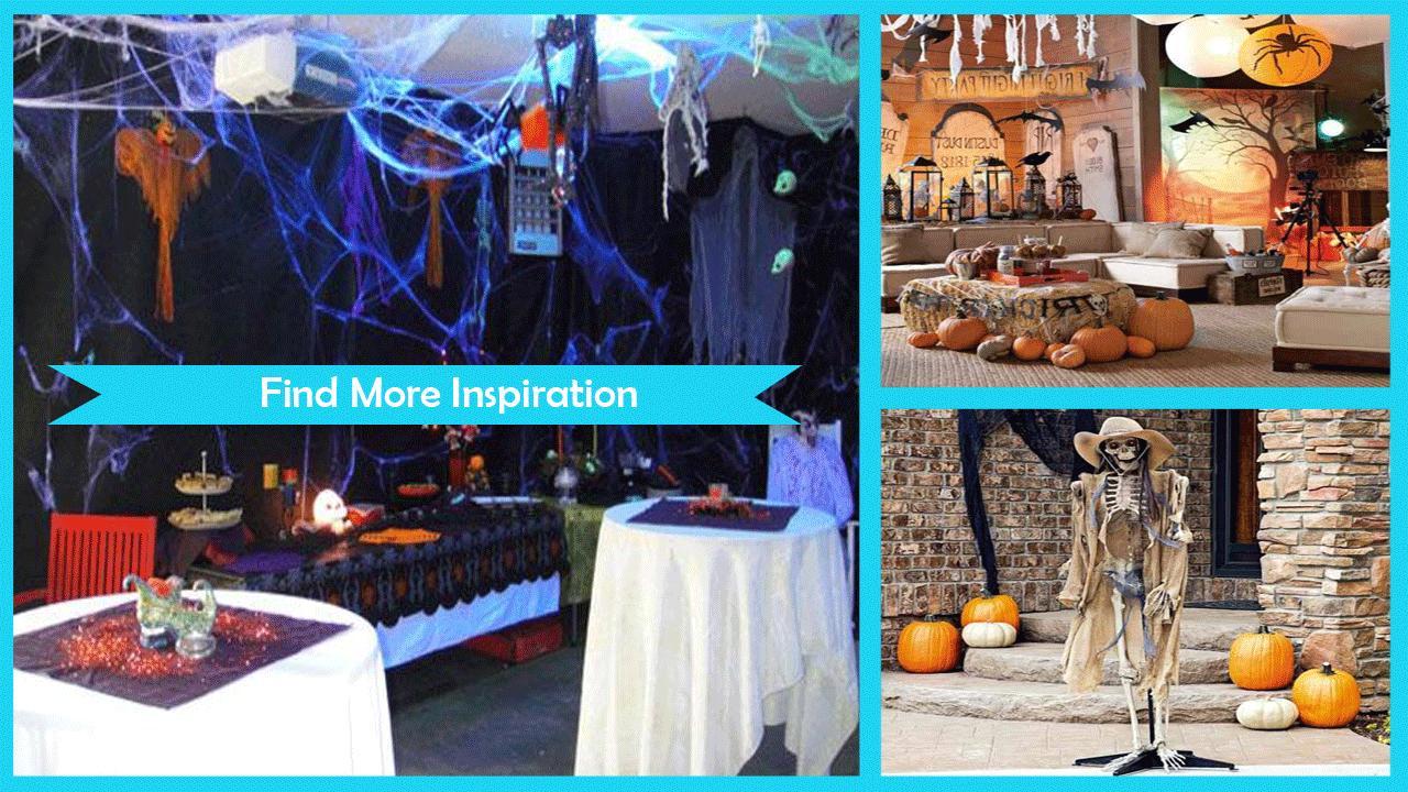 Fun Halloween Party Design Ideas poster