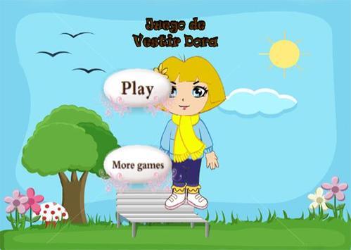 Juegos de vestir Dora poster