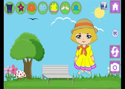 Juegos de vestir Dora apk screenshot