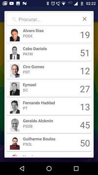 Meus Candidatos screenshot 2
