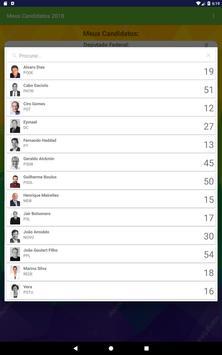 Meus Candidatos screenshot 3
