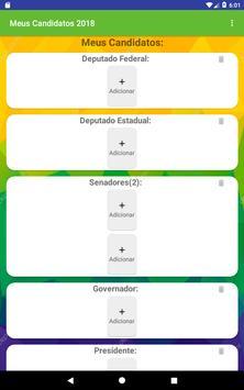 Meus Candidatos screenshot 8