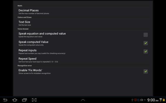 Voice Calculator screenshot 11