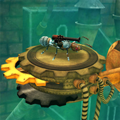 Iron Ant-Robot Ant Fire & Shoot in Insect World icon