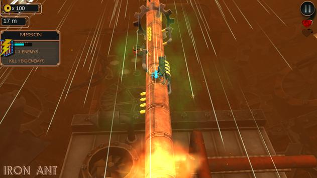 Iron Ant-Robot Ant Fire & Shoot in Insect World screenshot 2
