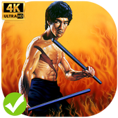 Bruce Lee Wallpapers HD 4K icon