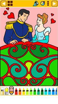 Coloring Book : Princess Part4 apk screenshot