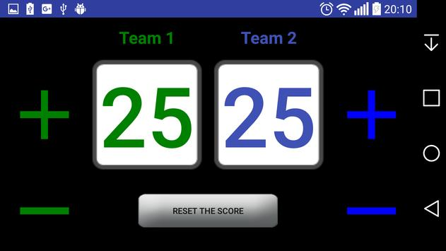 ScoreBoard apk screenshot