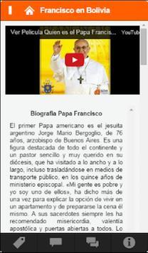 Francisco en Bolivia apk screenshot