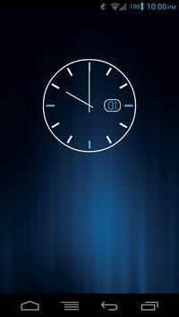 Date Clock - UCCW Skin poster