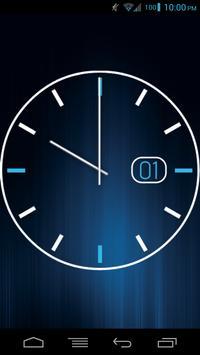 Date Clock - UCCW Skin apk screenshot
