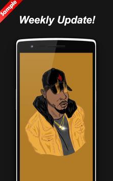 Bryson Tiller Wallpapers Art HD - Zaeni screenshot 2