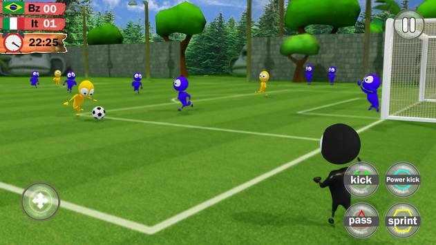 Kids Soccer League Striker: Play Football 2018 screenshot 1