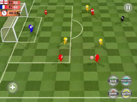 Kids Soccer League Striker: Play Football 2018 screenshot 4