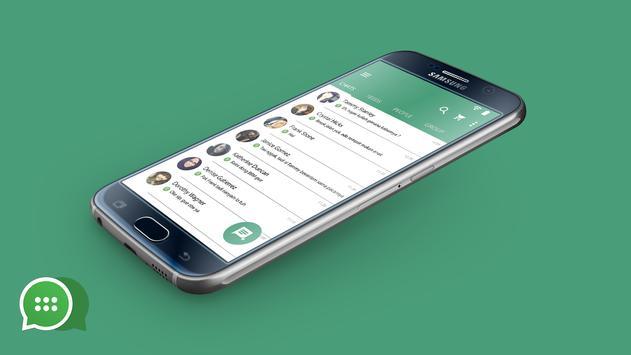 Delta BBM tema WhatsApp 2017 apk screenshot