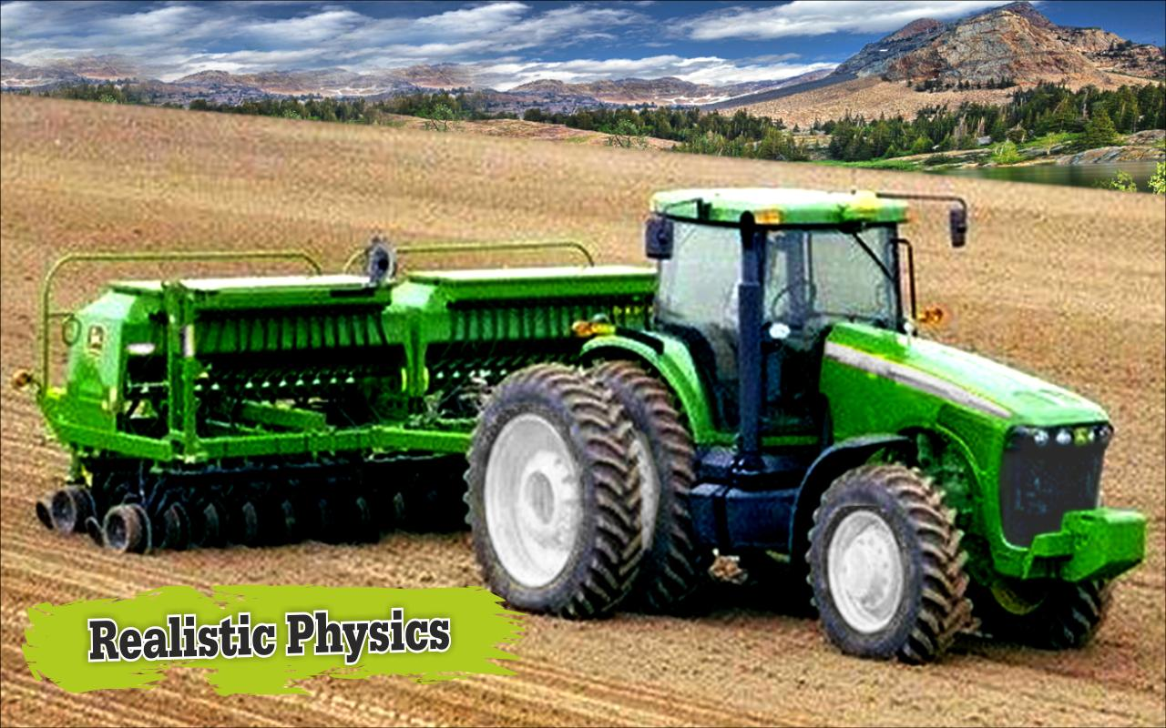 Fastest Tractor Farming : Tractor farming d games apk download free simulation