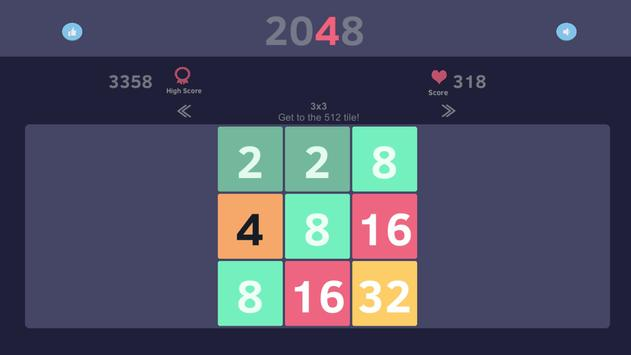 2048 Smart puzzle apk screenshot