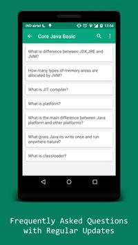 Java Tutorial & Interview Kit screenshot 2