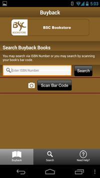 BSC Bookstore screenshot 1