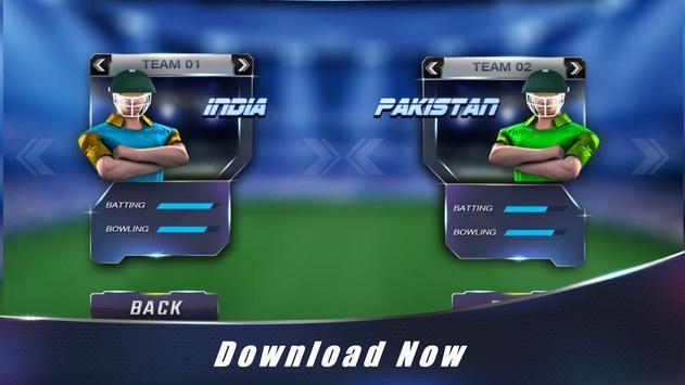 Touch Cricket T20 World Cup 16 apk screenshot