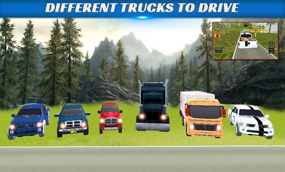 Truck Driver Transport offroad screenshot 1