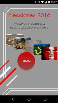 Elecciones Perú 2016 poster