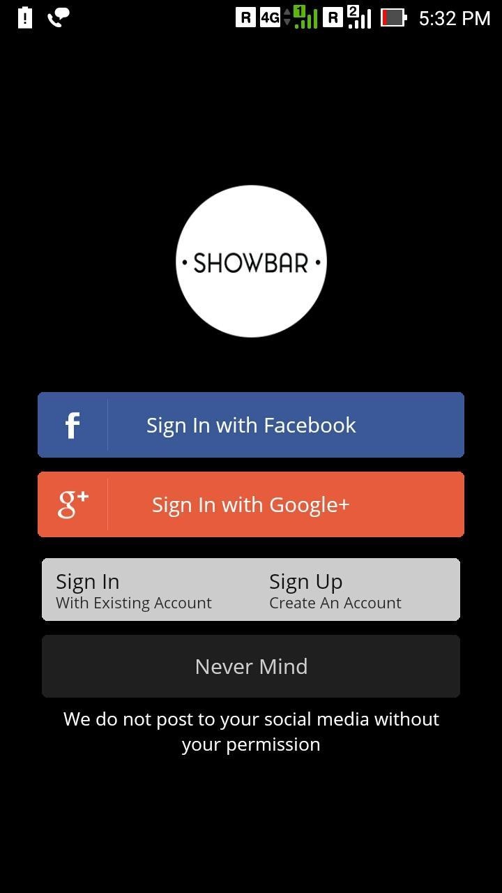 Showbar Exchange for Android - APK Download