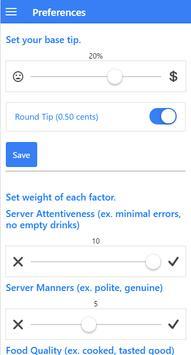 TipXP Lite Auto Tip Calculator screenshot 2