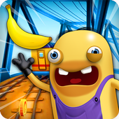 Subway Banana Rush 3D icon