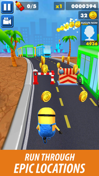 Subway Banana Rush 3D screenshot 3