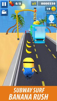 Subway Banana Rush 3D screenshot 4